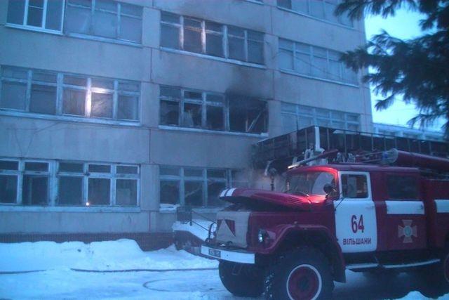 Пожежа в санаторії «Курорт Березівські мінеральні води»