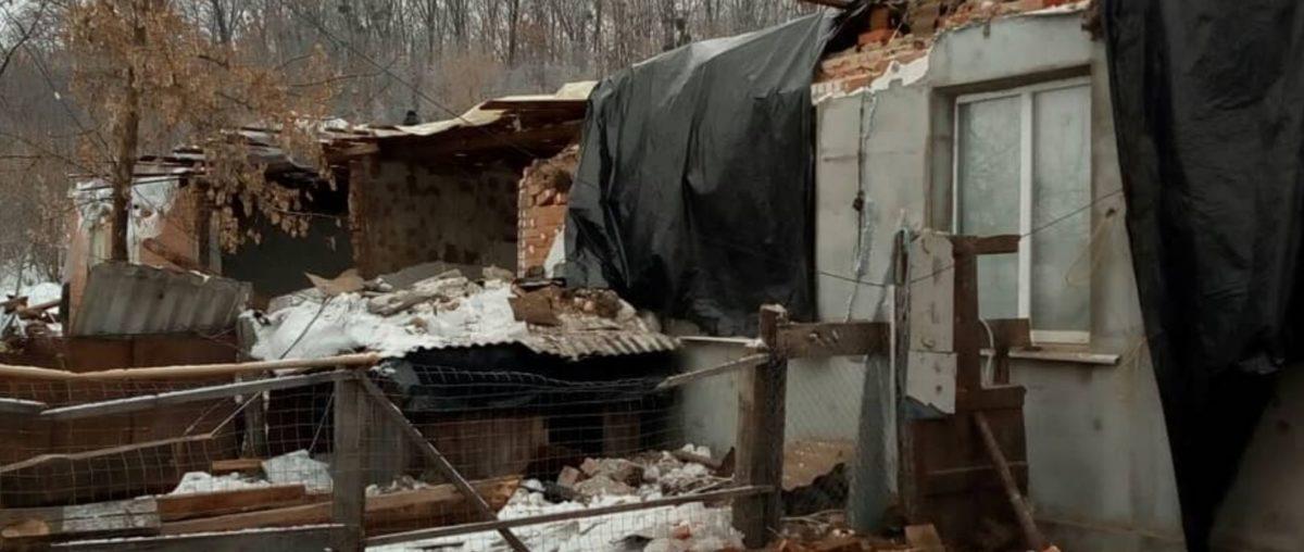 Мешканці зруйнованого будинку в селищі Васищеве отримають допомогу