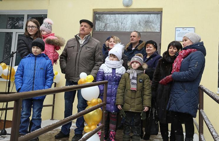 На Красноградщині переселенці отримали власне житло