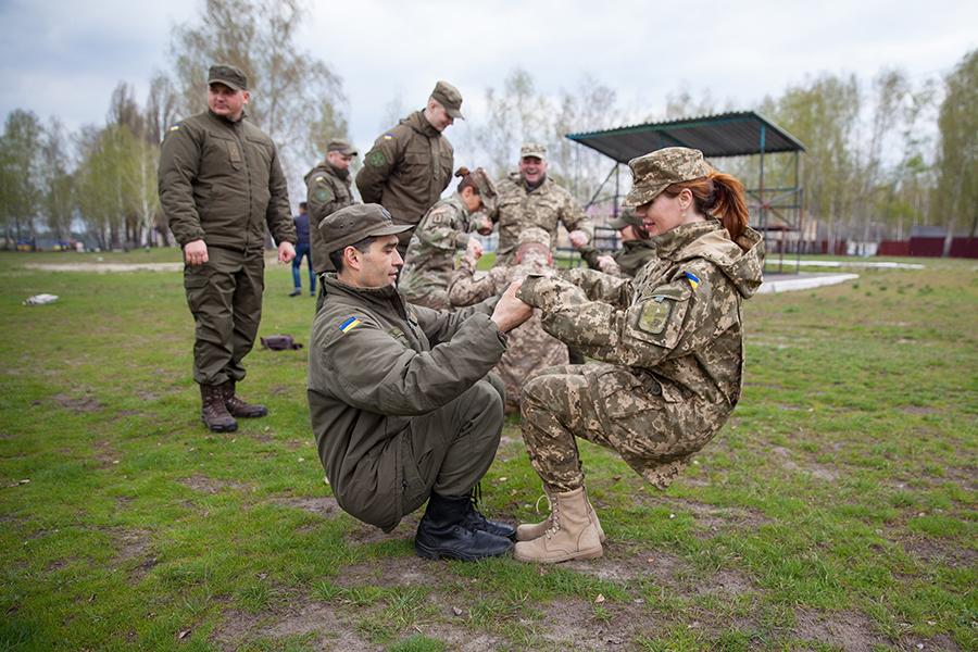 У Харкові проходять збори психологів Національної гвардії