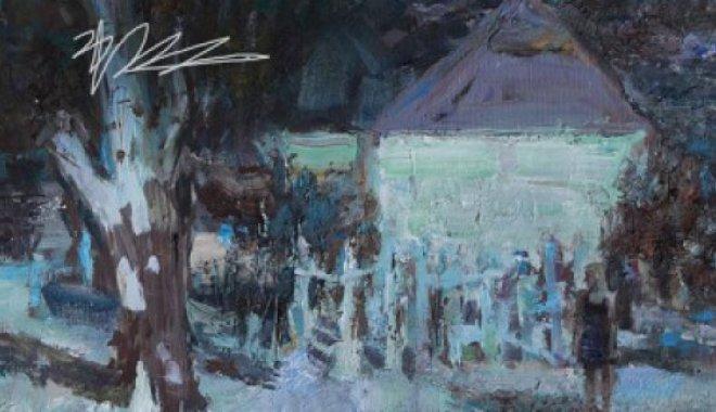 Виставка українських пейзажів китайського художника