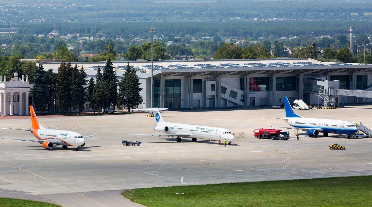 Рекордно збільшився пасажиропотік аеропорту «Харків»