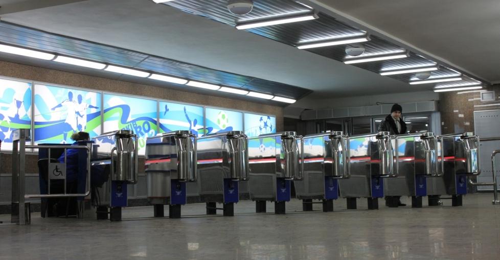 Валідатори E-ticket працюють на десяти станціях метро