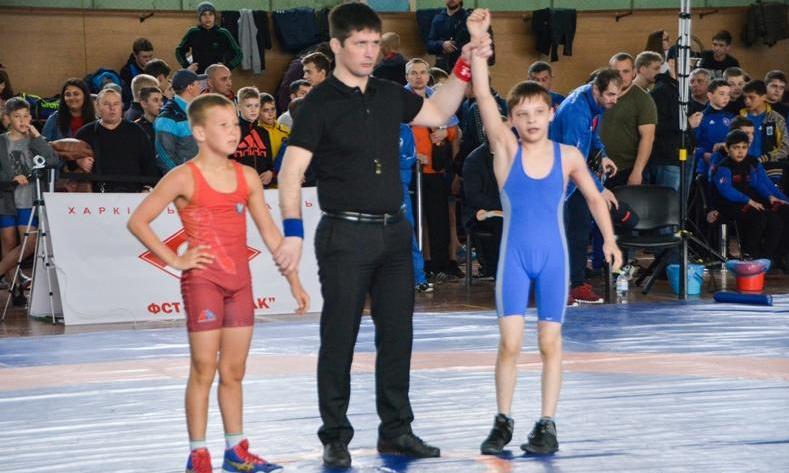 Юні харків'яни вибороли медалі Чемпіонату з греко-римської боротьби