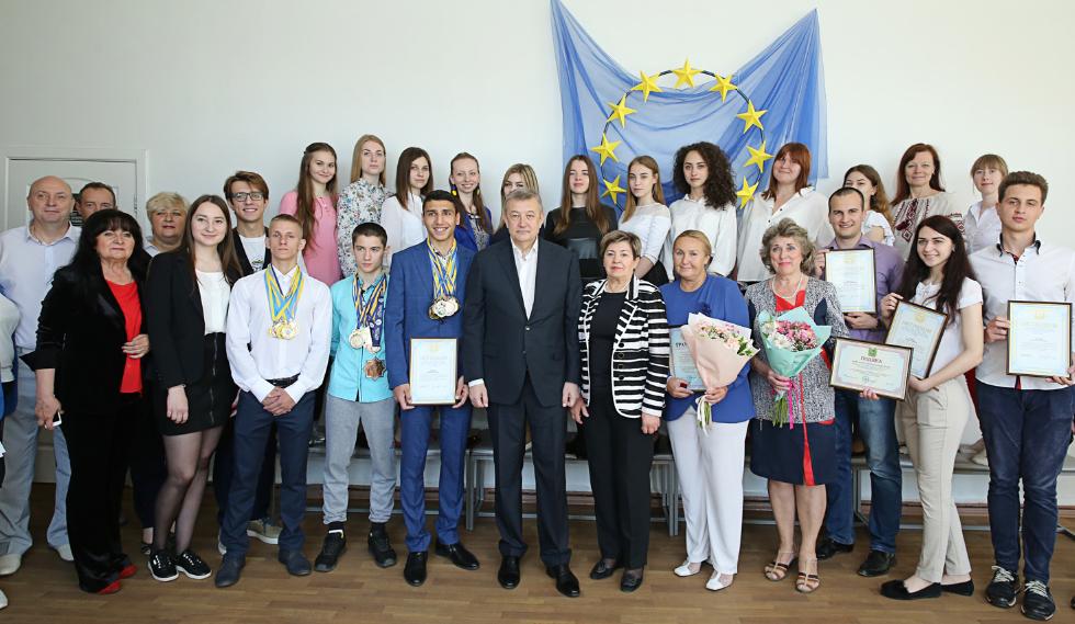 День Європи в Україні відзначили у вишах Харківщини
