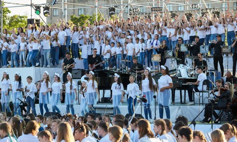 На площі Свободи пройде концерт до Дня захисту дітей