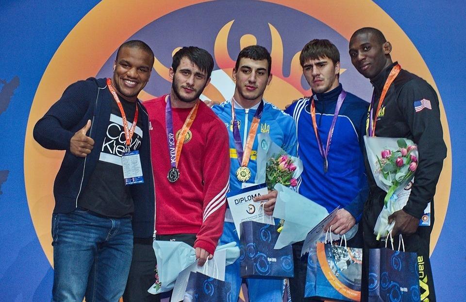 Харківські борці виграли медалі міжнародного турніру