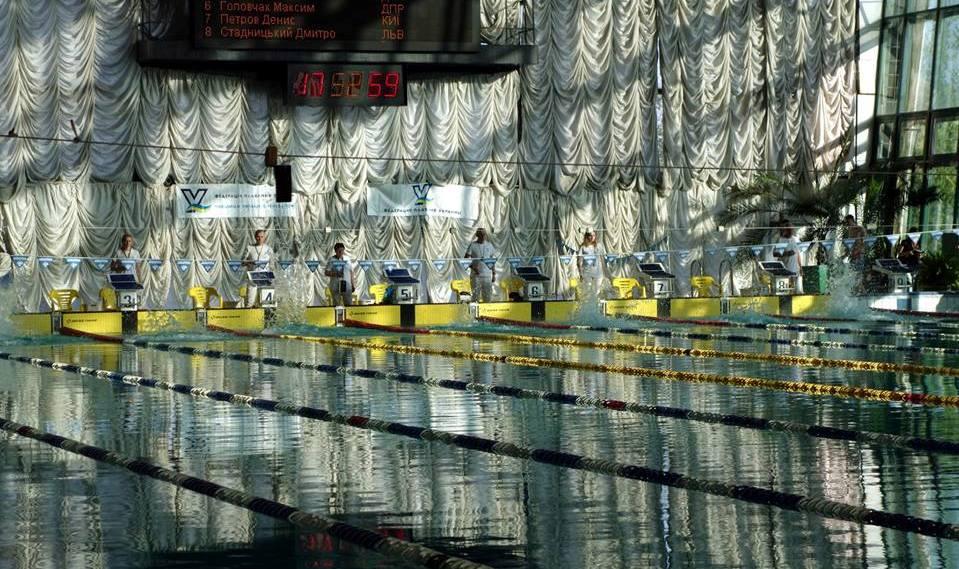 Успішний виступ харків'ян на Чемпіонаті України з плавання