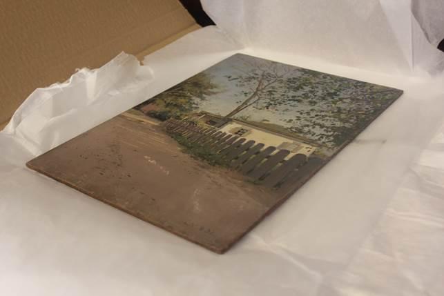 Картина «Етюд з будинком» повертається до Харкова