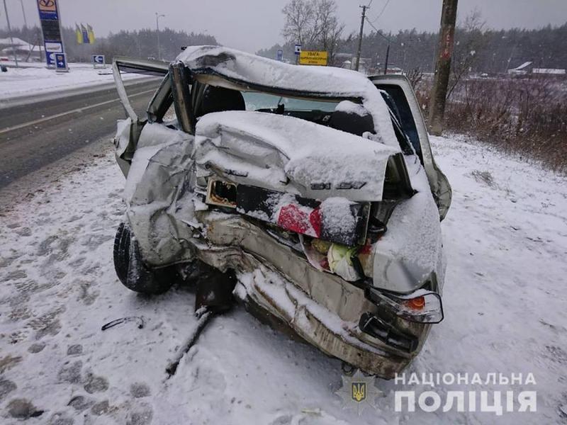 Аварія в Харківській області