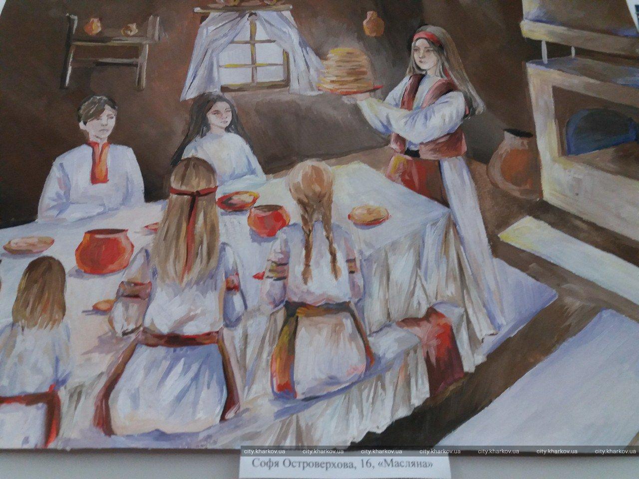 У Художньому музеї виставка новорічних дитячих малюнків