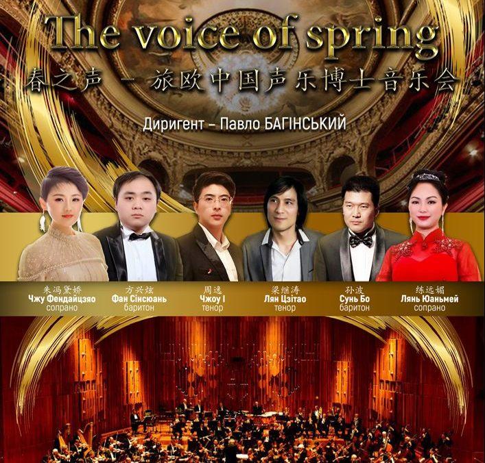 Весняний концерт у виконанні китайських музикантів