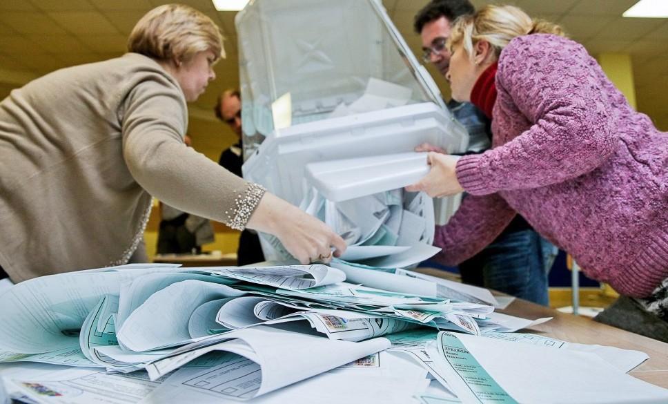 У Харківській області ЦВК оброблено 87% голосів