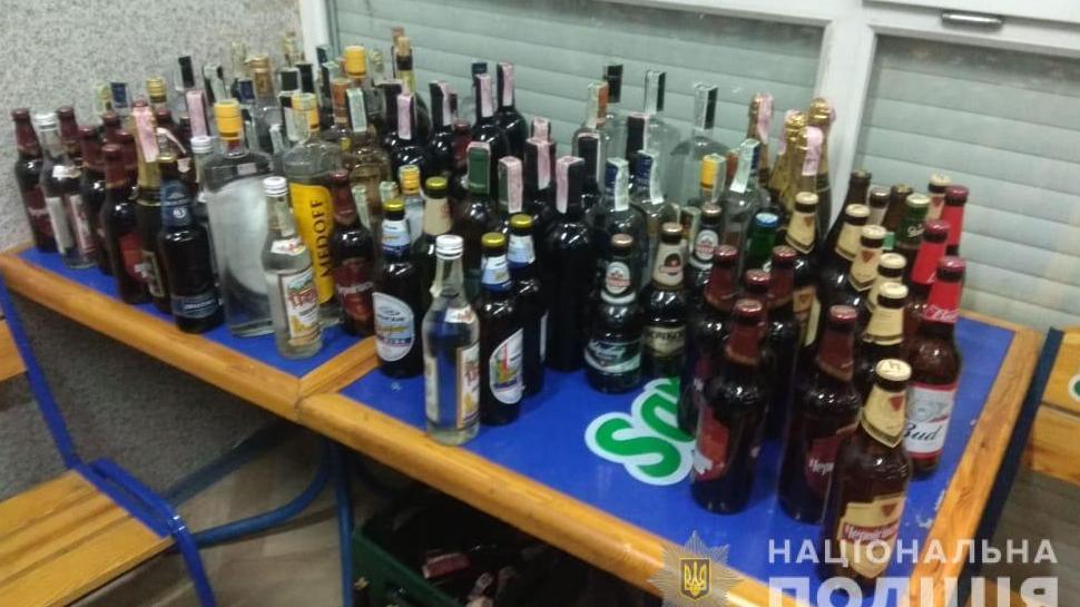 Силовиками зупинено незаконний продаж алкоголю