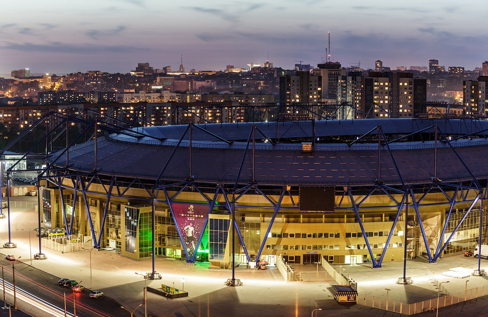 13 квітня стадіон охоронятимуть 400 поліцейських і гвардійців