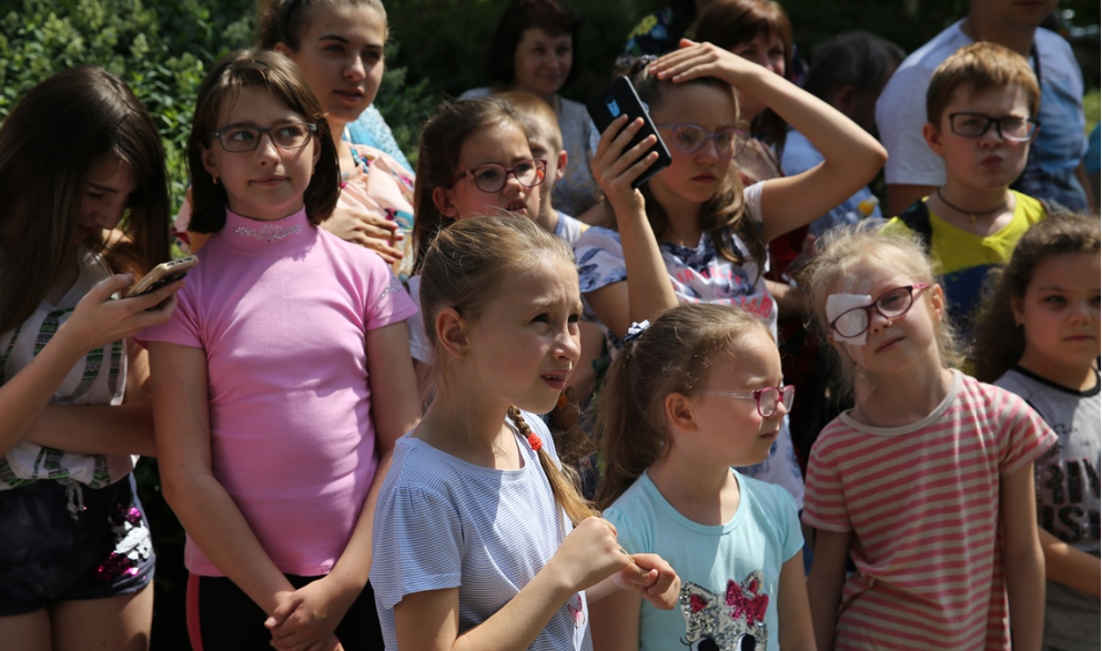 День захисту дітей відзначили в дитячій клінічній лікарні №1