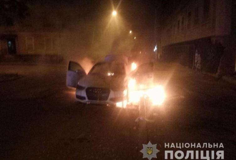 У Харкові за добу спалили чотири автомобіля