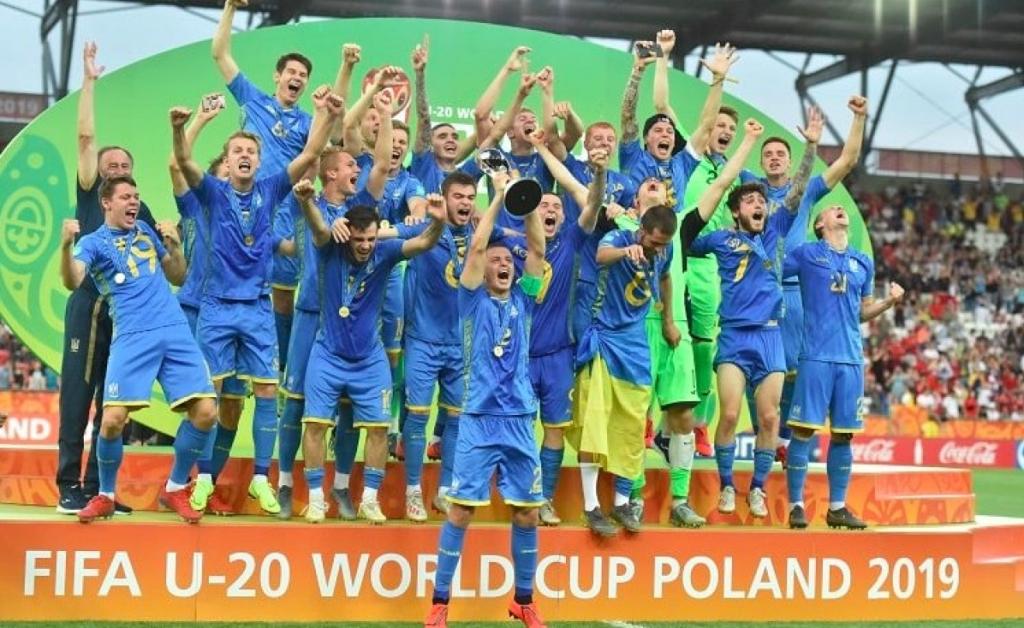 Українські футболісти стали чемпіонами світу