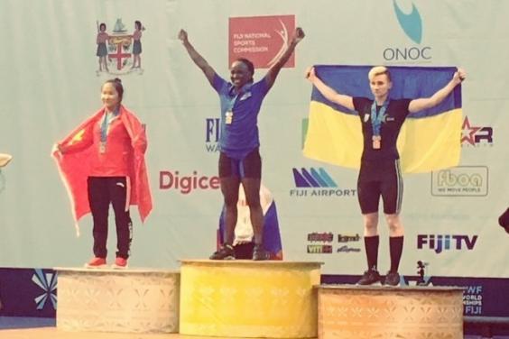 На Чемпіонаті світу з важкої атлетики харків'янка показала призовий результат