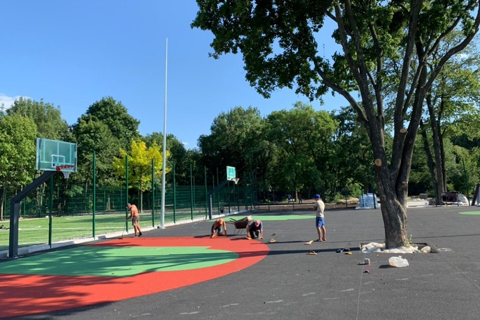 У Харкові відкриють парк для прихильників вуличних видів спорту