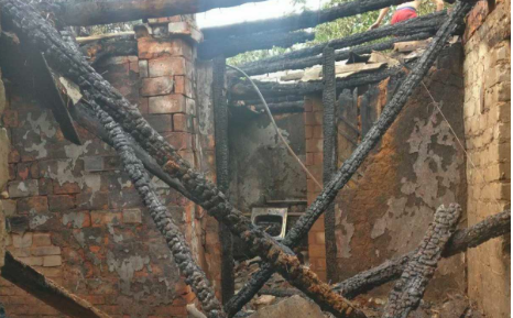 Під Харковом згорів будинок