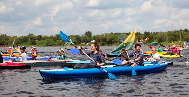 У вихідні в Харкові – фестиваль водного спорту та туризму