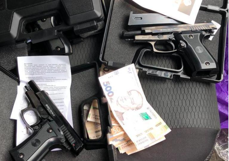 Торговця зброєю затримали у Харкові
