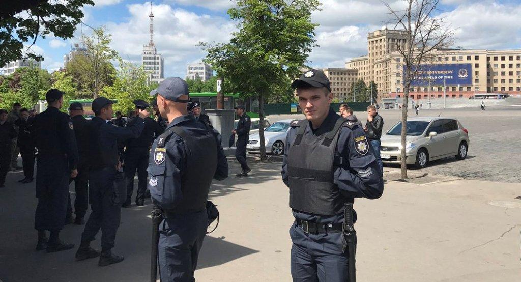 У Харкові сталася сутичка між групами підтримки кандидатів у депутати