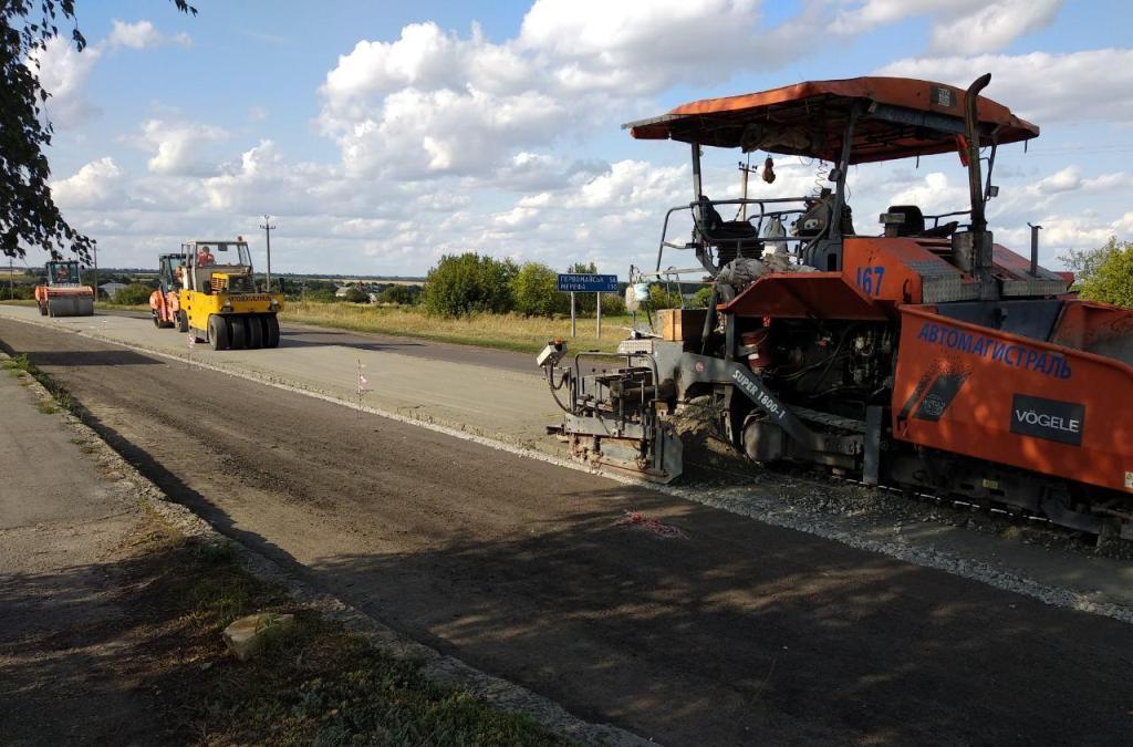 У Харкові активно ремонтують дороги