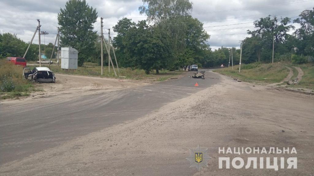 Внаслідок ДТП в Харківській області загинув чоловік