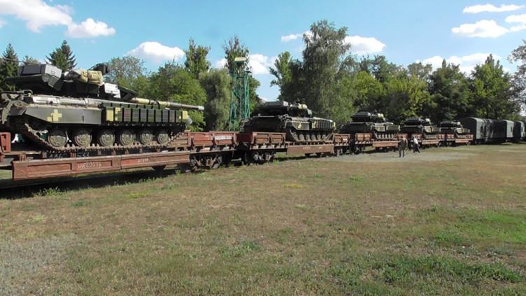 У Харкові відремонтували чергову партію танків