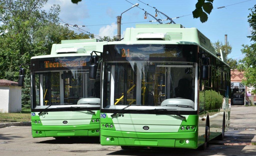 До Харкова прибула партія нових тролейбусів